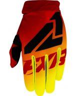 FXR Jugend Clutch Strap MX Motocross-Handschuhe Fluo Gelb/Rot