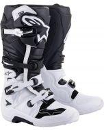 Alpinestars Motocross-Stiefel TECH 7 Weiss/Schwarz