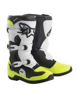 ALPINESTARS Motocross Stiefel TECH 3S KINDER SCHWARZ WEISS GELB