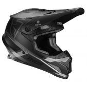 Thor Motocross Helm Sector Split Charcoal Schwarz