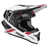 Thor Motocross Helm Sector Split Weiß Schwarz