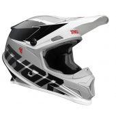 Thor Motocross-Helm Sector Fader schwarz weiß