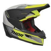 Thor Motocross-Helm Reflex Apex lindgrün grau