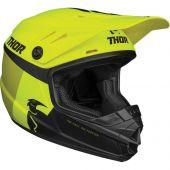 Thor Jugend Motocross-Helm Sector Racer lindgrün