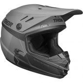 Thor Jugend Motocross-Helm Sector Racer schwarz holzkohle