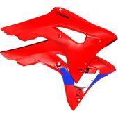 CYCRA POWERFLOW INTAKE Kühlerverkleidung HONDA CRF450 17-  Rot