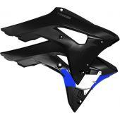 CYCRA POWERFLOW INTAKE Kühlerverkleidung HONDA CRF450 17- Schwarz
