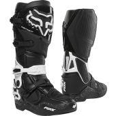 Fox Instinct Motocross Stiefel Schwarz Weiß