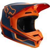 Fox Jugend V1 PRZM Motocross Helm Orange