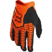 Fox Pawtector Motocross Handschuhe Fluo Orange