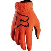 Fox Airline Motocross Handschuhe Fluo Orange