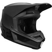 Fox Jugend V1 Matte Schwarz Motocross Helm