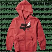 Fox Youth Hellion Zip Fleece Rio Red