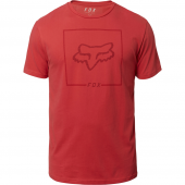 Fox Chapped SS Airline T-Shirt Rio Red