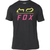 Fox Furnace SS Premium T-Shirt Black Yellow