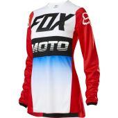 Fox Womens 180 FYCE Jersey Blue Red