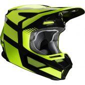 Fox V2 HAYL Motocross Helm Fluo Gelb