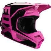 Fox V1 PRIX Motocross Helm Rosa