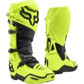 Fox Instinct Motocross Stiefel Fluo Gelb