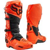 Fox Instinct Motocross Stiefel Fluo Orange