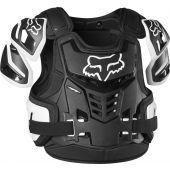 Fox Raptor Motocross Schutzweste  Schwarz Weiß