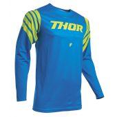 Thor Motocross Jersey Prime Pro Strut Blau Acid