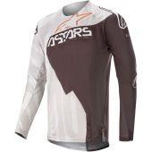 Alpinestars Motocross Jersey Techstar Factory Metal Copper