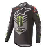 Alpinestars Motocross Jersey Monster Ammo Schwarz Grün