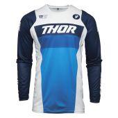 Thor Cross-Shirt Pulse Racer weiß marine blau