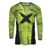 Thor Motocross-Jersey Pulse HZRD Acid Schwarz