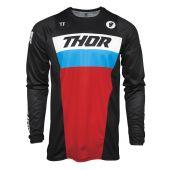 Thor Jugend Cross-Shirt Pulse Racer schwarz rot Blau