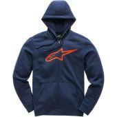 Alpinestars ageless II zip up fleece Hoodie Blau/Rot