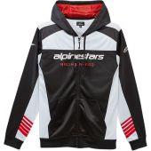 Alpinestars Sweatshirt SESSIONS II Schwarz/Weiss