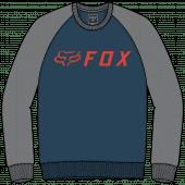 Fox apex crew fleece Dunkles Indigo