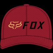 Fox apex flexfit Deckel Rot Schwarz