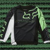 Fox Kids Skew Jersey Black Green
