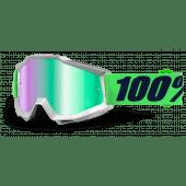 100% ACCURI Motocross Brille NOVA Spiegel Grün