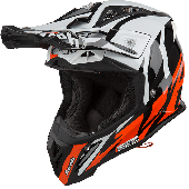 Airoh MX Motocross Helm Aviator 2.3 Great AMS Orange Gloss