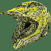 Airoh MX Motocross Helm Aviator Cairoli Junior
