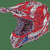 Airoh MX Motocross Helm Aviator 2.3 Bigger AMS Rot