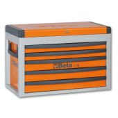 BETA Portable Tool Chest with five drawers Orange