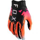 Fox - Flexair Pyre Motocross-Handschuhe Schwarz