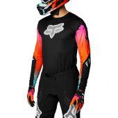 Fox - Flexair Pyre Motocross-Shirt Schwarz