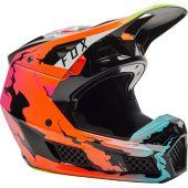 Fox - V3 RS Pyre Motocross-Helm Multi