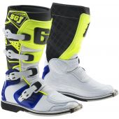 Gaerne Motocross Stiefel SG-J Blau Neon Gelb