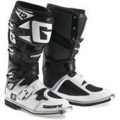 Gaerne Motocross Stiefel SG-12 Weiß Schwarz