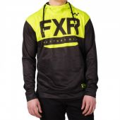 FXR M Helium Jersey Hoodie Black/Hi Vis