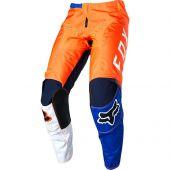 Fox 180 LOVL Motocross Hose Orange Blau