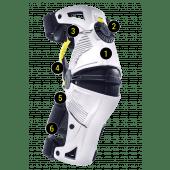 MOBIUS - Erwachsene Motocross KnieorthesenS X8 (PAIR)