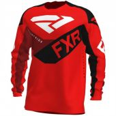 FXR Podium MX Motocross Jersey Rot/Schwarz/Maroon